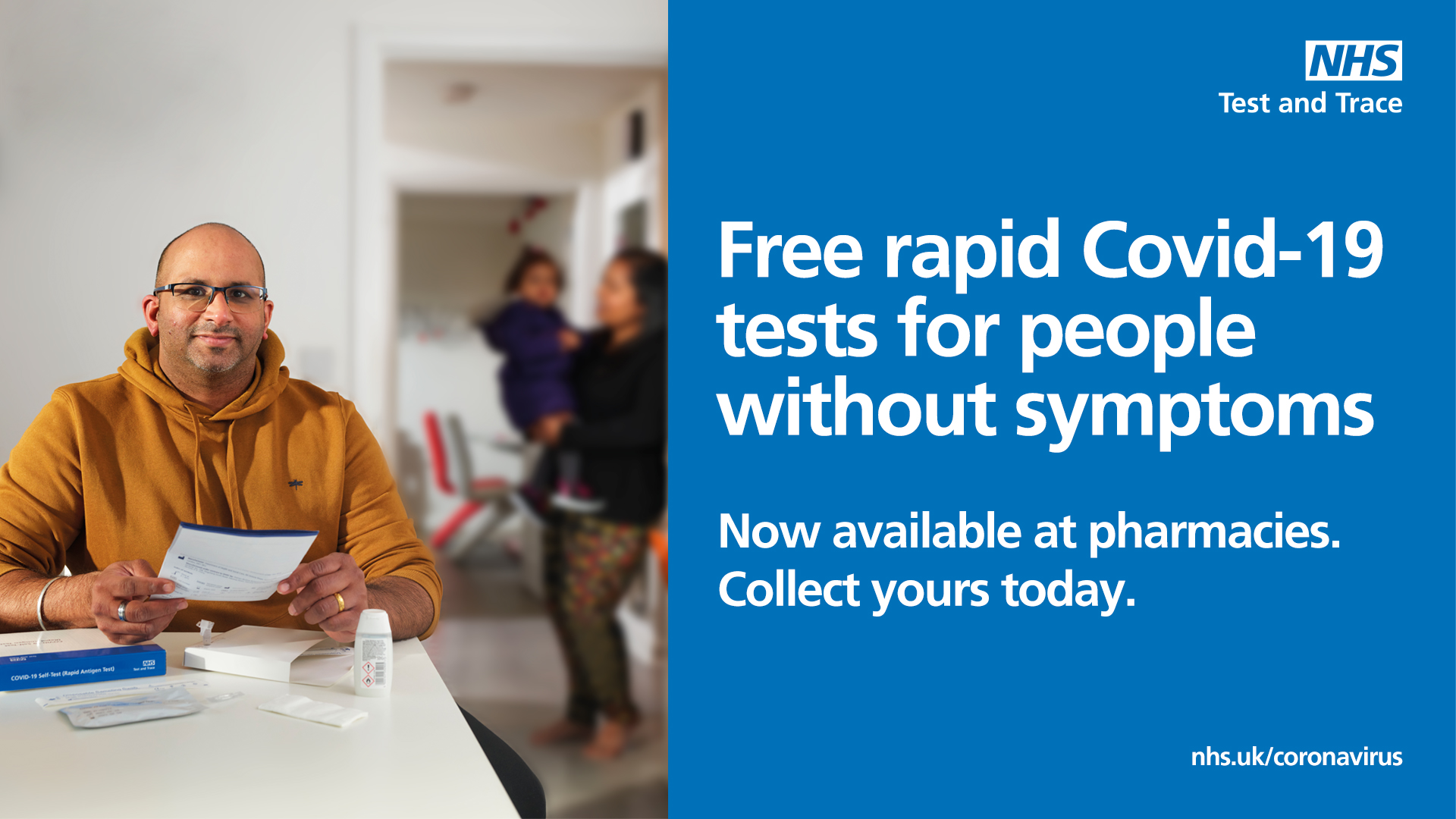 Free lateral flow tests for Stockport residents