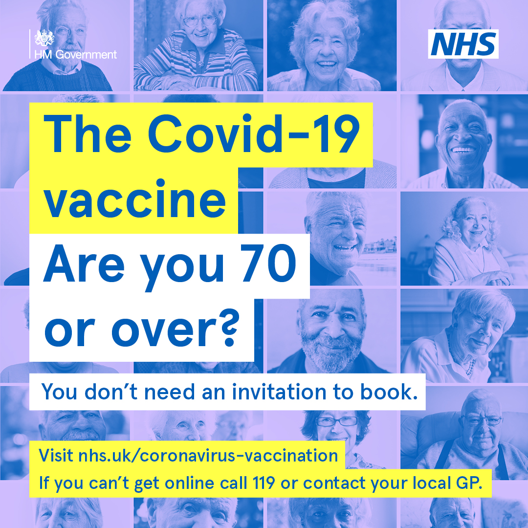 It is not too late to get your jab if you are in priority groups 1-4